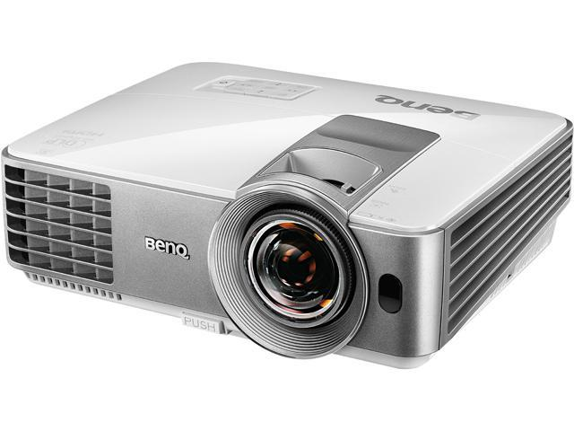 BenQ MW632ST WXGA 1280 x 800, 3200 ANSI Lumens, 13,000:1 Contrast Ratio, Dual HDMI /MHL input, Analog VGA, Up to 10,000 hours lamp life, USB 1.5A Power, LAN control, DLP Data Projector