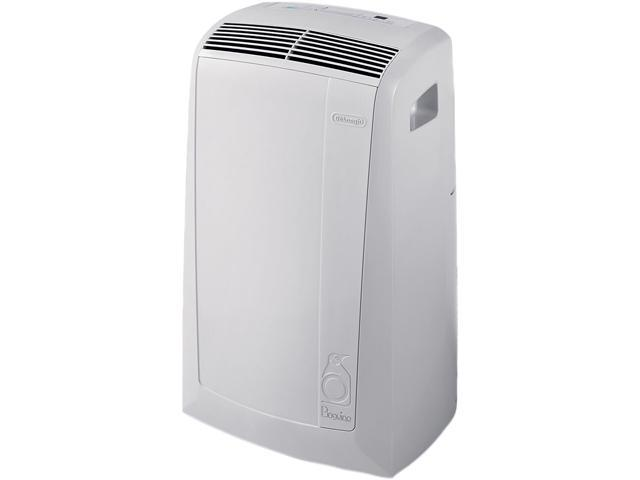 Delonghi PACN120E 12,000 BTU Eco Friendly Pinguino Portable Air Conditioner with Timer
