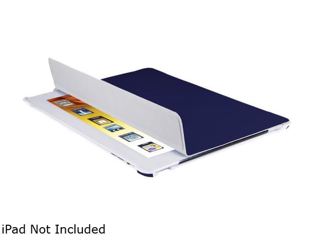 V7 Slim Carrying Case (Folio) for iPad - Dark Blue