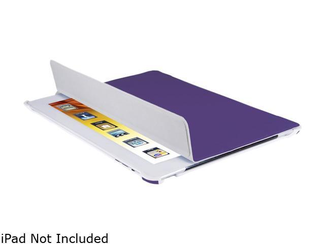 V7 Slim Carrying Case (Folio) for iPad - Black, Purple