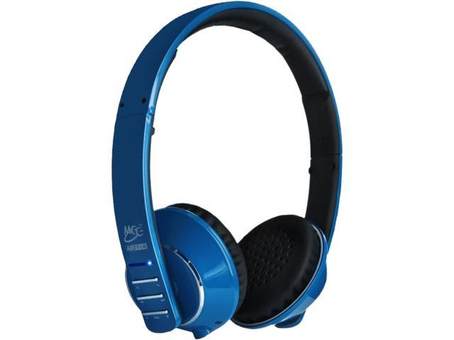 MEE audio AF32 Blue Air Fi Runaway Bluetooth Stereo Wireless Headphone with Microphone