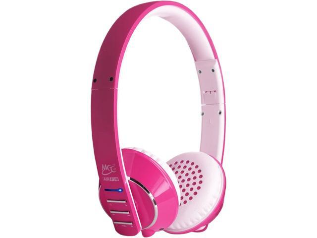 MEE audio Runaway 4.0 AF32 Stereo Bluetooth Wireless Headphones with Hidden Microphone (Pink)