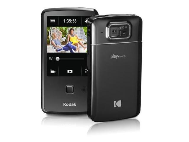 "Reconditioned Kodak PlayTouch 1080p HD Camcorder with 5MP CMOS Sensor with 3"" Touch-Screen Display, USB & HDMI Output"