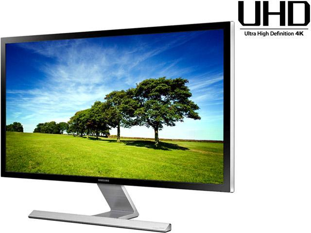 """SAMSUNG UD590 Series U28D590D 28"""" UHD Monitor with Metallic Easel Stand 1ms 4K HDMI Widescreen LED Backlight TN Panel 370 ..."""