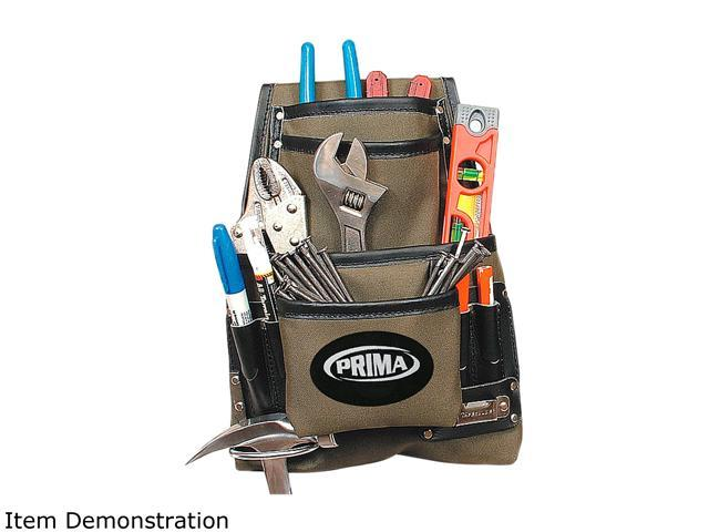 Prima Nylon Nail & Tool Pouch with 10 Pockets