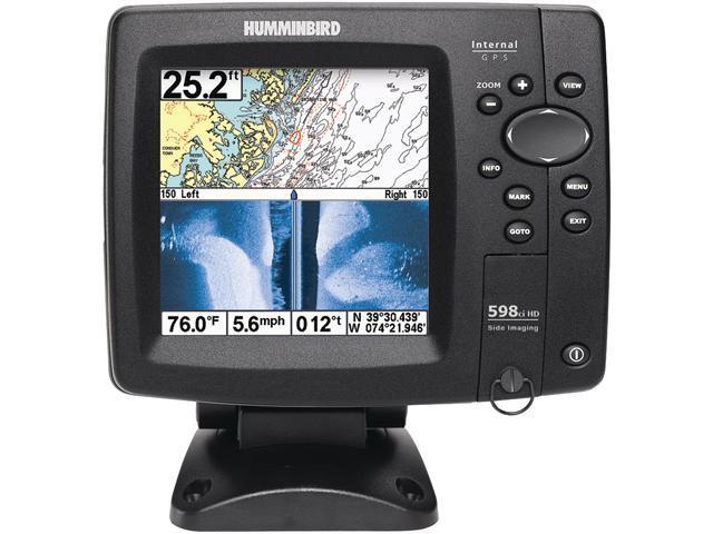 Humminbird 598ci HD SI Combo GPS Fishfinder w/Side Imaging