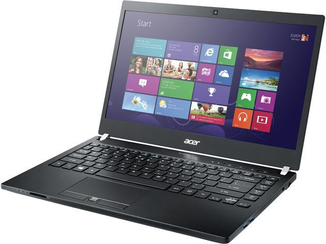 Acer Laptop TravelMate TMP645-SG-79QV Intel Core i7 5500U (2.40 GHz) 8 GB Memory 256 GB SSD NVIDIA GeForce 840M 14.0