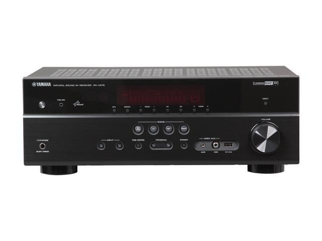 Yamaha RX-V475 5.1 Channel Network AV Receiver with Airplay (Black)