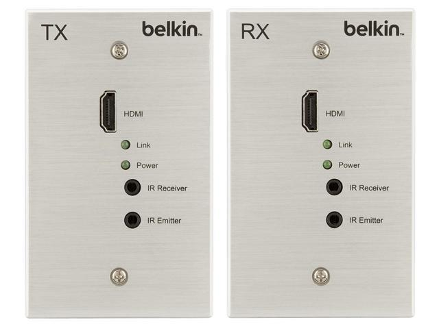 Belkin HDBT-WP-100M HDBaseT TX/RX AV Console/Extender Wall Plates