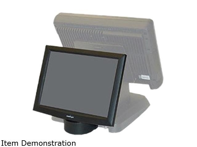 "Posiflex LM6101B 2nd LCD display, screen size 121"", Res: 1024x768, (Rear Base Mount)"