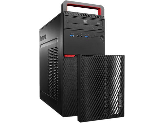 Lenovo Desktop PC ThinkCentre M700 (10GR0029US) Intel Core i3 6th Gen 6100 (3.70 GHz) 4 GB DDR4 500 GB HDD Intel HD Graphics 530 Windows 7 Professional 64-Bit / Windows 10 Pro Downgrade