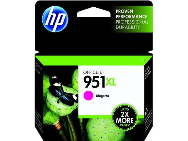 HP 951XL (CN047AN#140) Ink Cartridge 1,500 Page Yield; Magenta