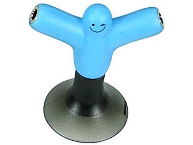 TEKNMOTION TMAUDBL BLUE AUDIO SPLITTER DEVICE STAND ALLOWS