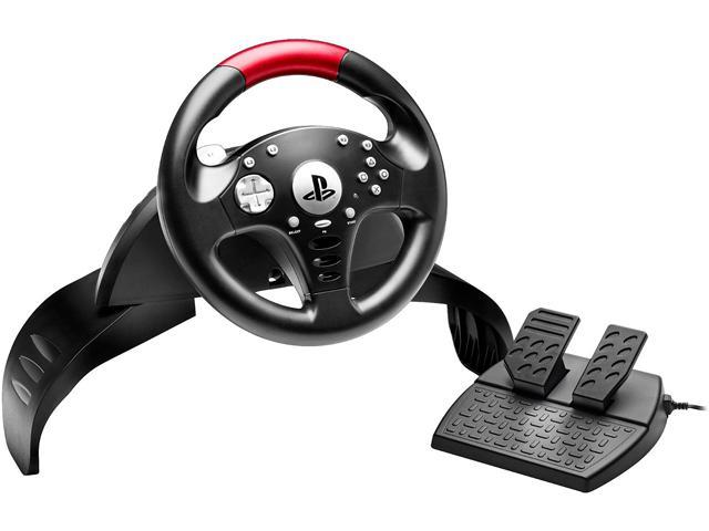 THRUSTMASTER 4169067 Officially-Licensed T60 Racing Wheel compatible with Sony PlayStation3