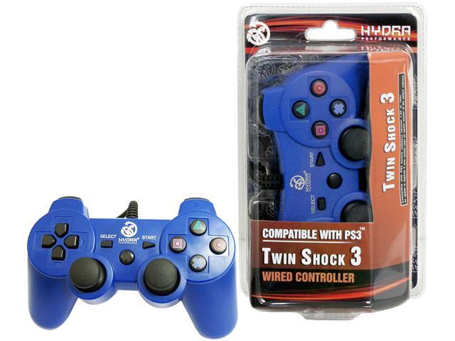 Hydra Performance® PS3 Wired Controller for Playstation3 Blue Game Pad