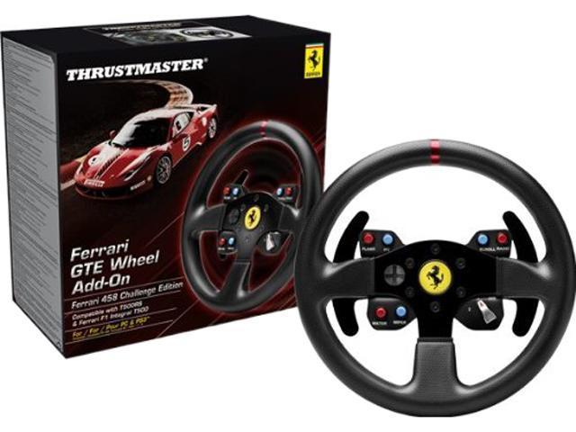 thrustmaster ferrari 458 challenge wheel add on. Black Bedroom Furniture Sets. Home Design Ideas