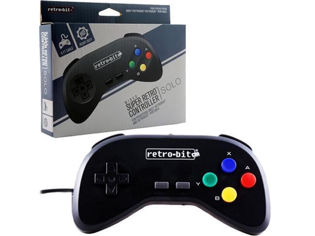 Retro-Bit - Super Retro RDP Wired Controller for SNES - Black