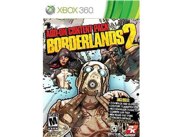 Borderlands 2 Add On Pack X360