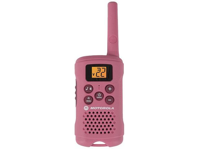 Motorola Talkabout Pink Alkaline Two-Way Radio