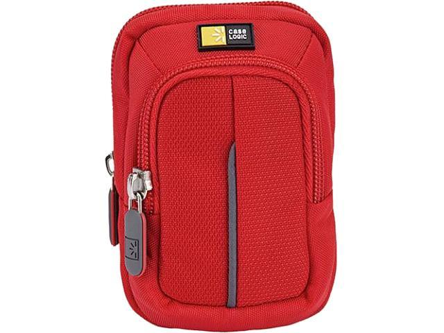 Case Logic DCB-302RED Red Compact Camera Case With Storage
