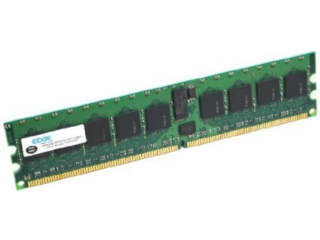 EDGE Memory 4GB 240-Pin DDR2 DIMM ECC Unbuffered DDR2 800 (PC2 6400) Server Memory Model D1240-231705-PE