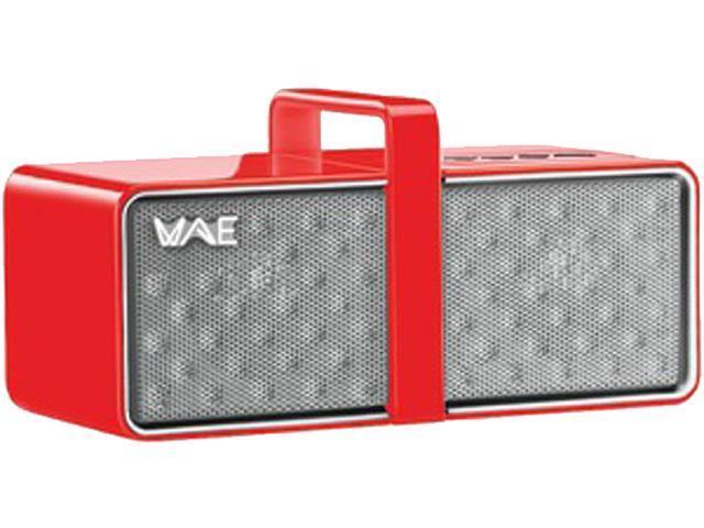 Hercules 4780556 Mini Portable Bluetooth Speaker ,Red/White