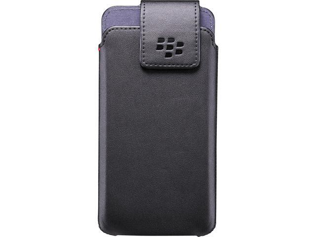 BlackBerry Black BlackBerry DTEK50 Leather Swivel Holster ACC-63005-001