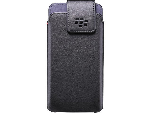 BlackBerry Black BlackBerry DTEK50 Leather Swivel Holster ACC-63005-001