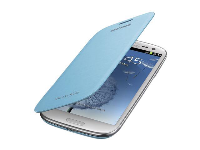 OEM Samsung EFC-1G6FLEGSTA Galaxy S3 Flip Cover - Light Blue