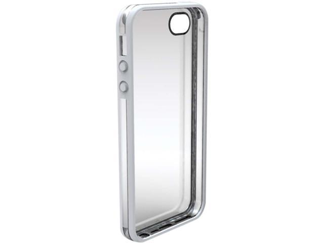 OZONE iPhone 5 VISOR Dual Shell White+Clear Back Casing