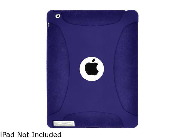 Amzer Silicone Skin Jelly Case - Blue For The new iPad