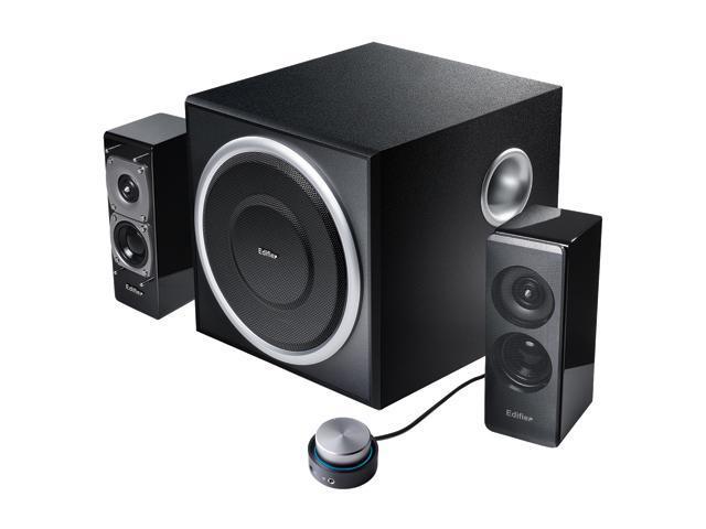 S330D RMS 18W x 2 + 36W x 1 2.1 Multimedia 2.1 Speaker System