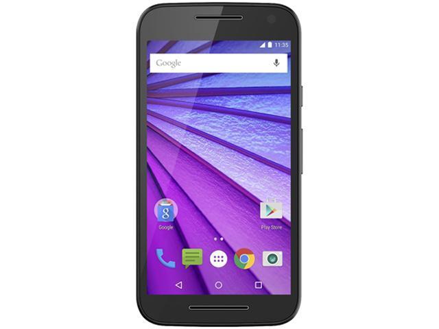 "Motorola Moto Smartphone G 3rd Gen XT1540 16 GB 4G LTE Cell Phone 5"" 2 GB RAM (Unlocked, Black)"