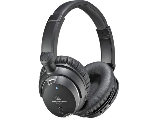 Audio Technica ATH-ANC9 QuietPoint Active Noise-Cancelling Headphones