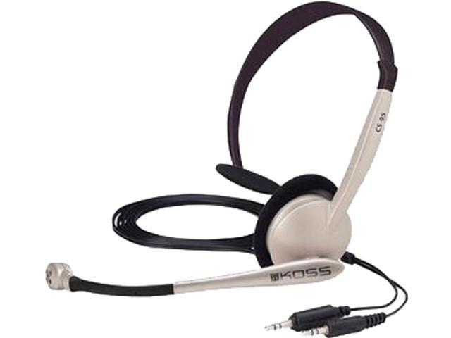 Koss CS95 USB Communication Headset with Noise Reduction Microphone