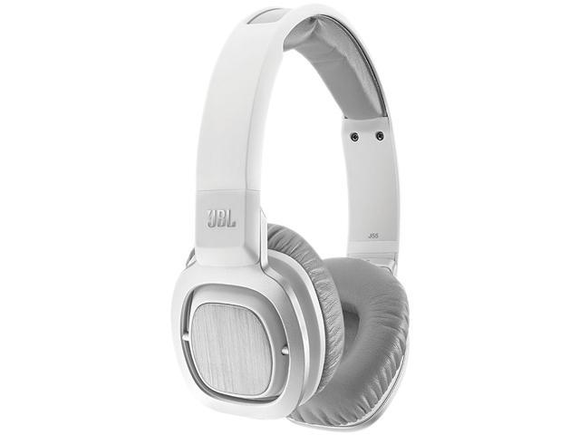 JBL J55i White DJ-Style Headphones with Remote and Mic for Apple
