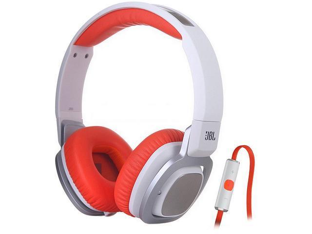 JBL J55i On-Ear Headphones with Mic - Orange