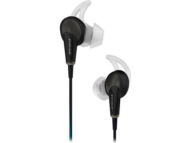 9f5f1aae8c4 Bose Quiet Comfort 20 Acoustic Noise Cancelling Headphones-Black-iOS Devices