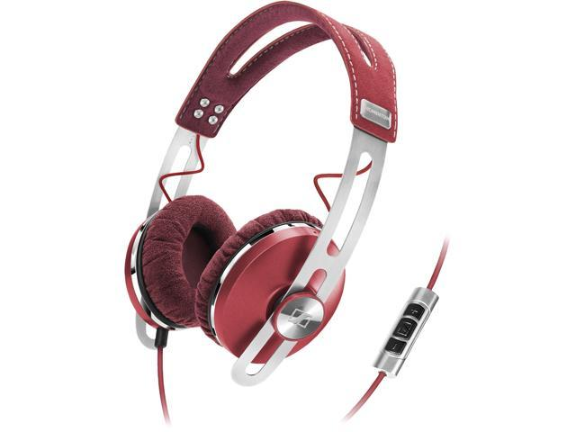 Sennheiser Momentum On-Ear Headphones - Red