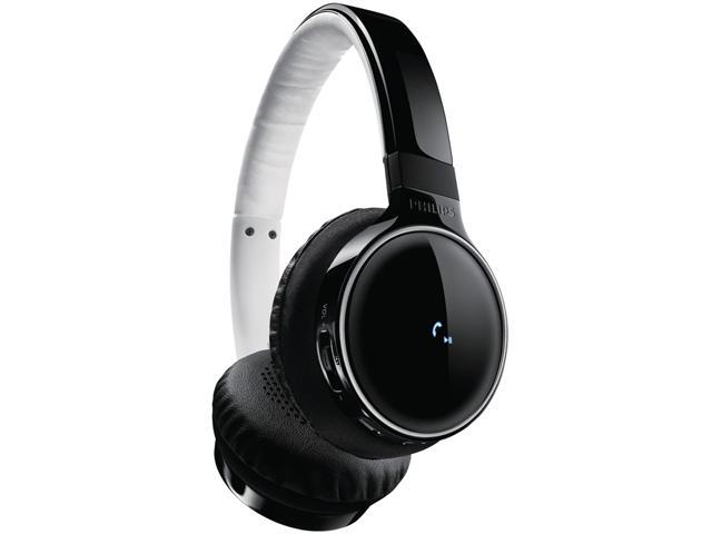 Philips SHB9100 Bluetooth Over-Ear Headphones - Black