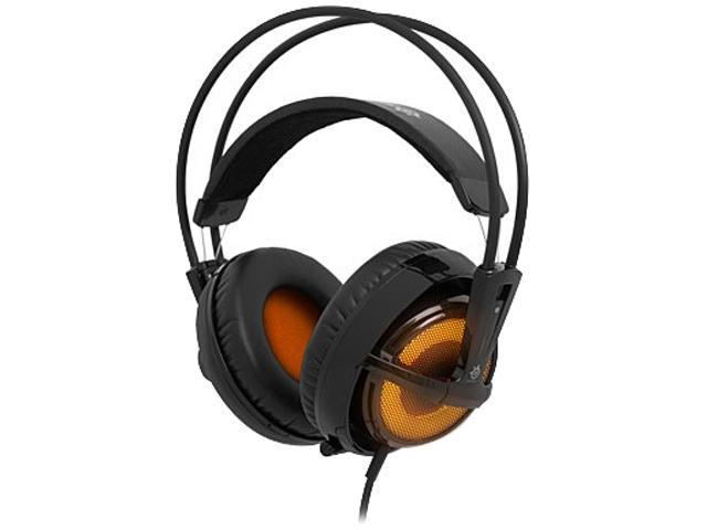 SteelSeries Siberia v2 Full-Size Headset Heat Orange Edition