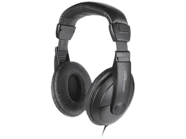 Cushion Stereo Headphones w/Vol Cntrl