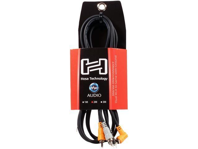 Hosa CRA-202DJ Stereo Interconnect