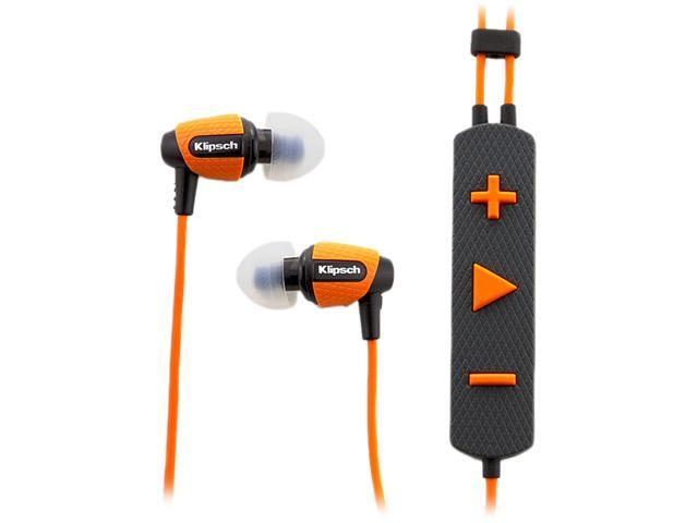 Klipsch Image S4i Rugged - ORANGE Earbud In-Ear Headphones