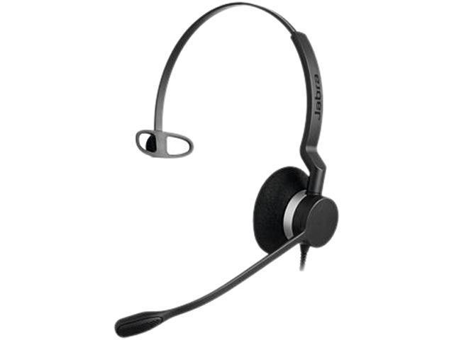 Jabra Biz 2300 QD Mono, Corded Headset for Desk Phone