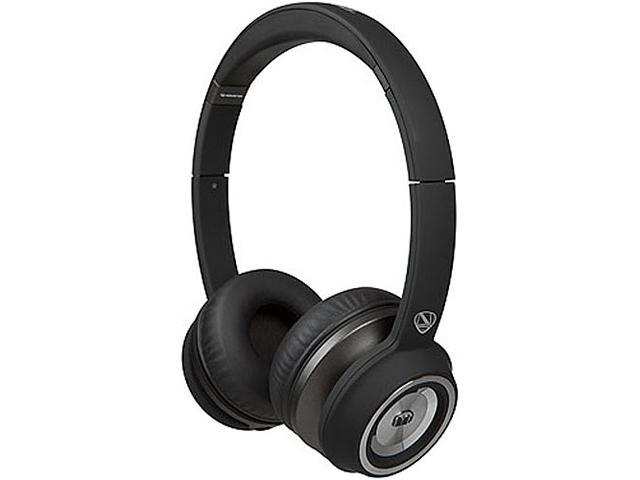 Monster Cable NTune On-Ear Headphone, Matte Black, #128580
