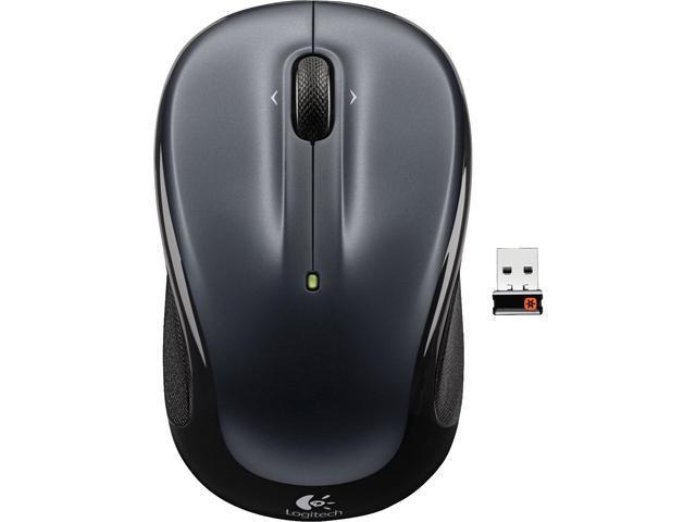 Logitech M325 910-002136 Dark Silver Tilt Wheel RF RF Wireless Optical Mouse