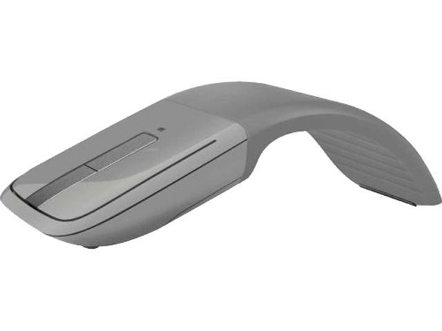 Microsoft Arc Touch 7MP-00012 Gray 3 Buttons Touch Scroll Bluetooth Bluetooth Wireless BlueTrack Mouse