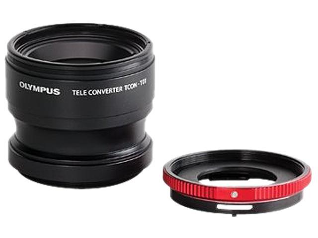 OLYMPUS V321180BW020 Auxiliary Lenses Telephoto Tough Lens Pack TCON-T01 & CLA-T01 Adapter Black