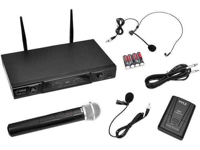 PylePro PDWM2115 VHF Wireless Microphone Receiver System